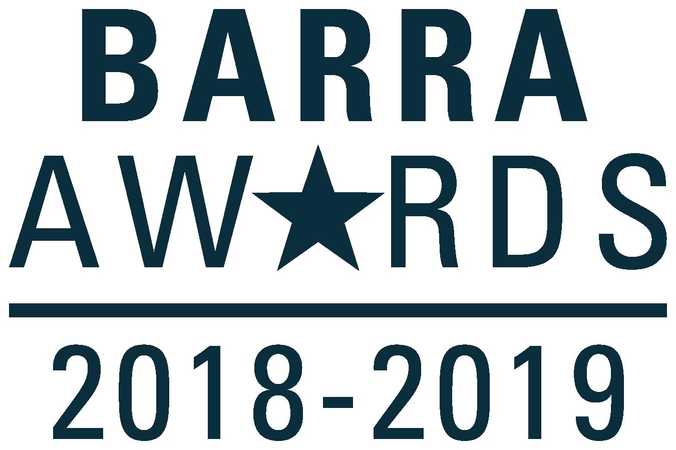 2018-2019 Barra Awards